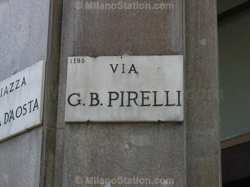 Via Giovanni Battista Pirelli
